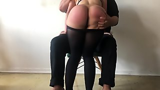 Freshly Spanked Ass Asking for More