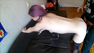 BDSM action with young girl